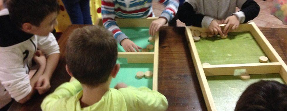 feste di compleanno con giochi di legno