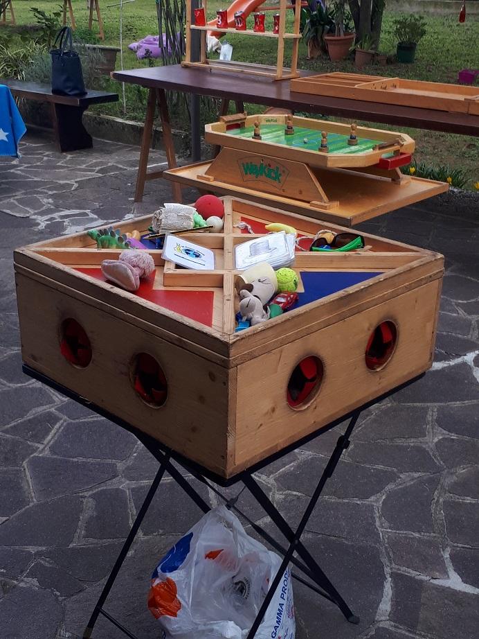 giochi di legno scatola dei misteri